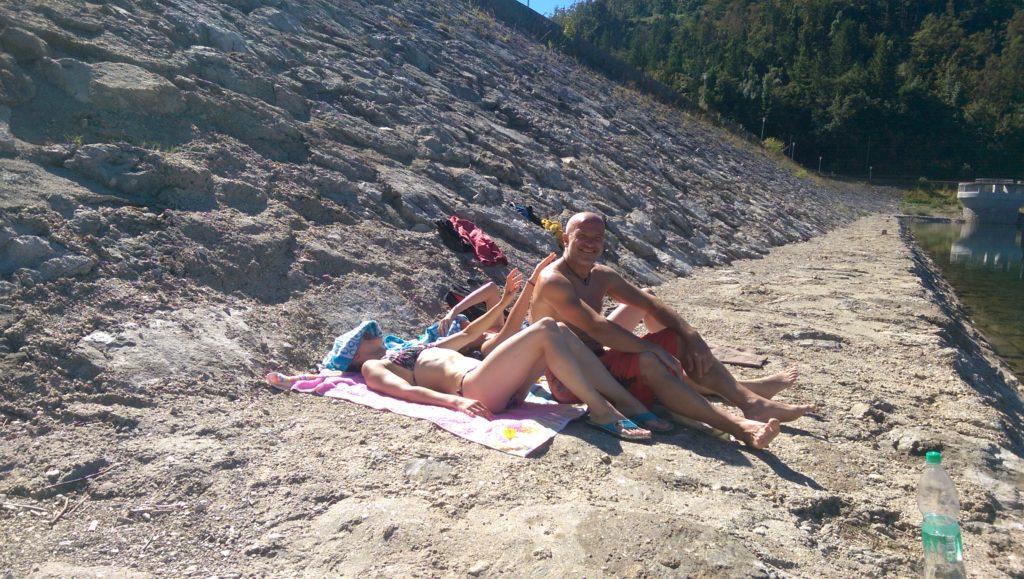 Najboljši plezalci so bili na plaži deležni časti in slave...
